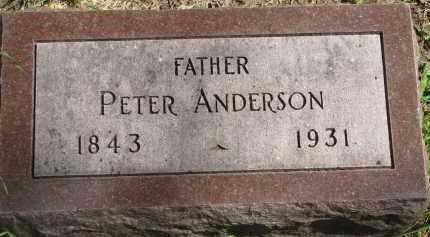 ANDERSON, PETER - Clay County, South Dakota | PETER ANDERSON - South Dakota Gravestone Photos