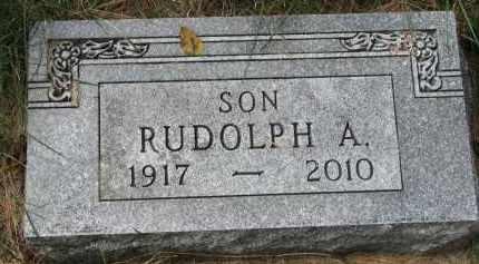 ANDERSON, RUDOLPH A. - Clay County, South Dakota   RUDOLPH A. ANDERSON - South Dakota Gravestone Photos