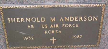 ANDERSON, SHERNOLD M. (MILITARY) - Clay County, South Dakota | SHERNOLD M. (MILITARY) ANDERSON - South Dakota Gravestone Photos
