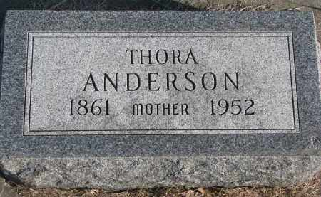 ANDERSON, THORA - Clay County, South Dakota | THORA ANDERSON - South Dakota Gravestone Photos