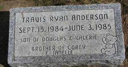 ANDERSON, TRAVIS RYAN - Clay County, South Dakota | TRAVIS RYAN ANDERSON - South Dakota Gravestone Photos