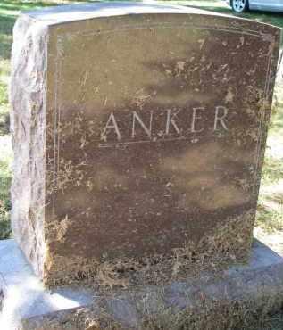ANKER, FAMILY STONE - Clay County, South Dakota   FAMILY STONE ANKER - South Dakota Gravestone Photos