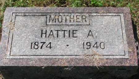 ANKER, HATTIE A. - Clay County, South Dakota | HATTIE A. ANKER - South Dakota Gravestone Photos
