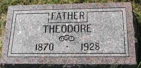 ANKER, THEODORE - Clay County, South Dakota | THEODORE ANKER - South Dakota Gravestone Photos