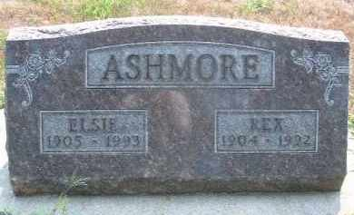 ASHMORE, ELSIE - Clay County, South Dakota | ELSIE ASHMORE - South Dakota Gravestone Photos