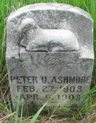 ASHMORE, PETER U. - Clay County, South Dakota | PETER U. ASHMORE - South Dakota Gravestone Photos