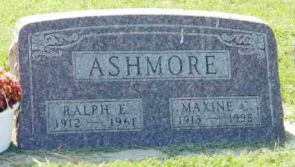 ASHMORE, RALPH E. - Clay County, South Dakota | RALPH E. ASHMORE - South Dakota Gravestone Photos