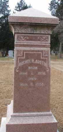 AUSTIN, RACHEL R. - Clay County, South Dakota | RACHEL R. AUSTIN - South Dakota Gravestone Photos