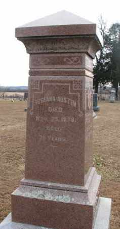 AUSTIN, ROSANNA - Clay County, South Dakota | ROSANNA AUSTIN - South Dakota Gravestone Photos