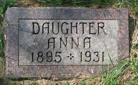 BACKLIN, ANNA - Clay County, South Dakota | ANNA BACKLIN - South Dakota Gravestone Photos