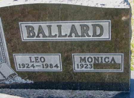 BALLARD, LEO - Clay County, South Dakota | LEO BALLARD - South Dakota Gravestone Photos
