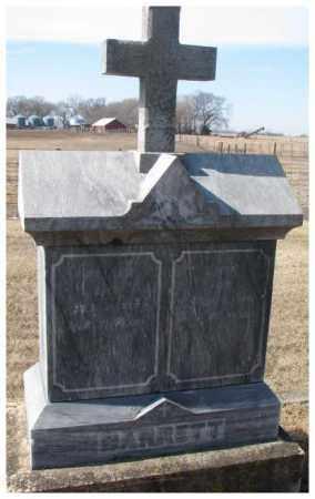 BARRETT, WILLIAM - Clay County, South Dakota | WILLIAM BARRETT - South Dakota Gravestone Photos