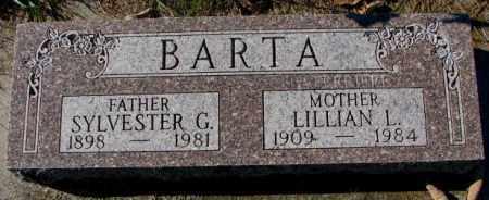 BARTA, SYLVESTER G. - Clay County, South Dakota | SYLVESTER G. BARTA - South Dakota Gravestone Photos