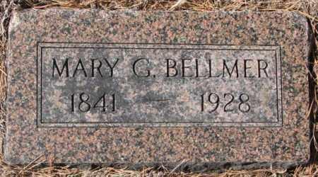 BELLMER, MARY G. - Clay County, South Dakota   MARY G. BELLMER - South Dakota Gravestone Photos