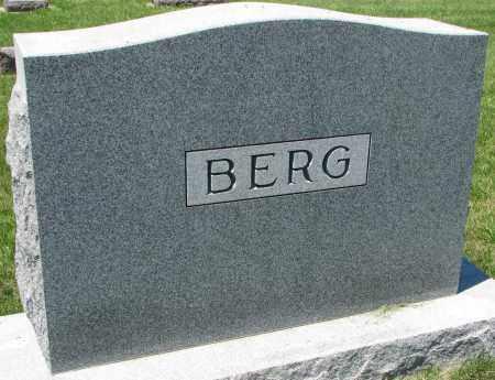 BERG, FAMILY STONE - Clay County, South Dakota | FAMILY STONE BERG - South Dakota Gravestone Photos