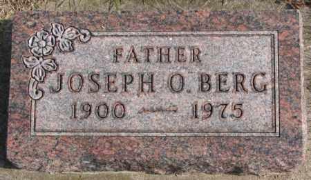 BERG, JOSEPH O. - Clay County, South Dakota | JOSEPH O. BERG - South Dakota Gravestone Photos