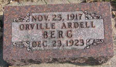 BERG, ORVILLE ARDELL - Clay County, South Dakota | ORVILLE ARDELL BERG - South Dakota Gravestone Photos