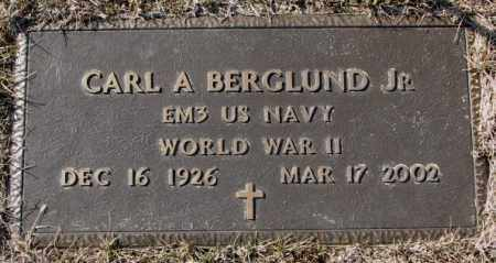 BERGLUND, CARL A. JR. (WW II) - Clay County, South Dakota | CARL A. JR. (WW II) BERGLUND - South Dakota Gravestone Photos