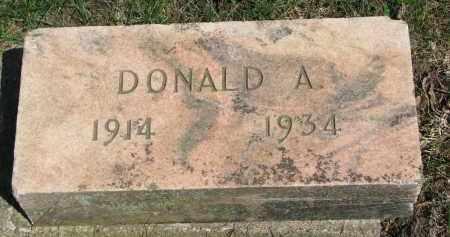 BERGLUND, DONALD A. - Clay County, South Dakota | DONALD A. BERGLUND - South Dakota Gravestone Photos