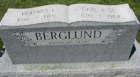 BERGLUND, DOLORES I. - Clay County, South Dakota | DOLORES I. BERGLUND - South Dakota Gravestone Photos