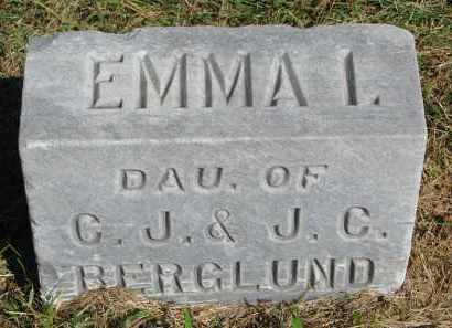 BERGLUND, EMMA I. - Clay County, South Dakota   EMMA I. BERGLUND - South Dakota Gravestone Photos