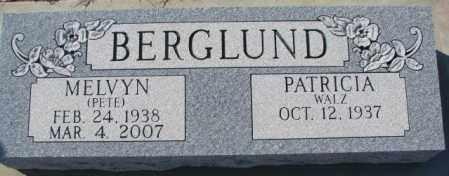 "BERGLUND, MELVYN ""PETE"" - Clay County, South Dakota   MELVYN ""PETE"" BERGLUND - South Dakota Gravestone Photos"
