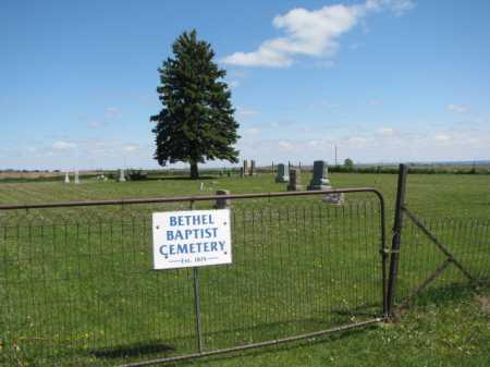 *BETHEL BAPTIST, CEMETERY - Clay County, South Dakota | CEMETERY *BETHEL BAPTIST - South Dakota Gravestone Photos