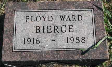 BIERCE, FLOYD WARD - Clay County, South Dakota   FLOYD WARD BIERCE - South Dakota Gravestone Photos