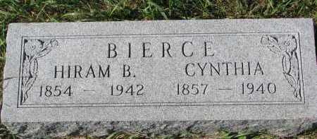 BIERCE, HIRAM B. - Clay County, South Dakota | HIRAM B. BIERCE - South Dakota Gravestone Photos