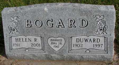 BOGARD, HELEN R. - Clay County, South Dakota | HELEN R. BOGARD - South Dakota Gravestone Photos