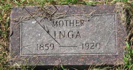 BOLINE, INGA - Clay County, South Dakota   INGA BOLINE - South Dakota Gravestone Photos