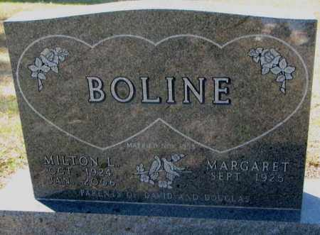 ALNE BOLINE, MARGARET - Clay County, South Dakota | MARGARET ALNE BOLINE - South Dakota Gravestone Photos