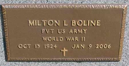 BOLINE, MILTON L. (WW II) - Clay County, South Dakota | MILTON L. (WW II) BOLINE - South Dakota Gravestone Photos