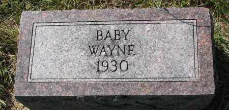 BOLINE, WAYNE - Clay County, South Dakota | WAYNE BOLINE - South Dakota Gravestone Photos