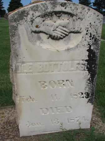 BOTTOLFSON, OLE - Clay County, South Dakota | OLE BOTTOLFSON - South Dakota Gravestone Photos