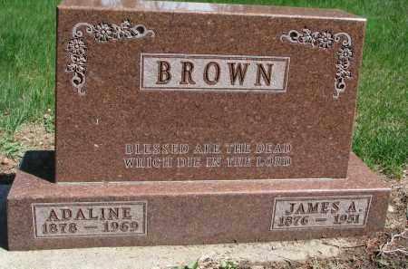 GRAY BROWN, ADALINE - Clay County, South Dakota | ADALINE GRAY BROWN - South Dakota Gravestone Photos