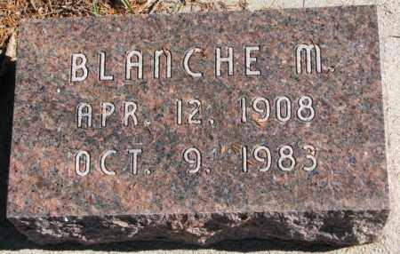 BROWN, BLANCHE M. - Clay County, South Dakota | BLANCHE M. BROWN - South Dakota Gravestone Photos