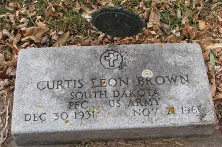 BROWN, CURTIS LEON - Clay County, South Dakota | CURTIS LEON BROWN - South Dakota Gravestone Photos