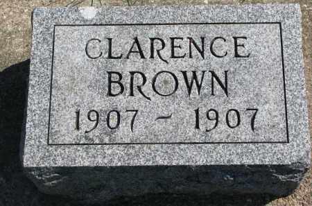 BROWN, CLARENCE - Clay County, South Dakota | CLARENCE BROWN - South Dakota Gravestone Photos