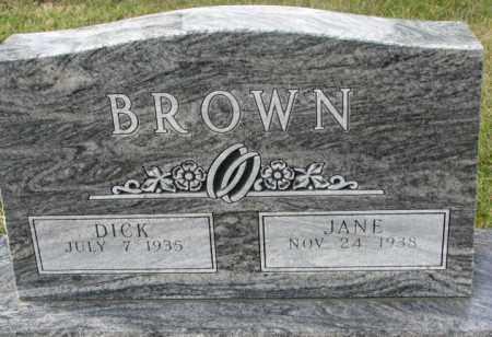 BROWN, JANE - Clay County, South Dakota | JANE BROWN - South Dakota Gravestone Photos