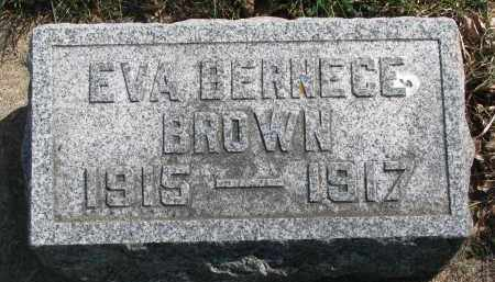 BROWN, EVA BERNECE - Clay County, South Dakota | EVA BERNECE BROWN - South Dakota Gravestone Photos