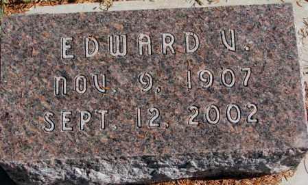 BROWN, EDWARD V. - Clay County, South Dakota | EDWARD V. BROWN - South Dakota Gravestone Photos