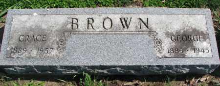 BROWN, GRACE - Clay County, South Dakota | GRACE BROWN - South Dakota Gravestone Photos