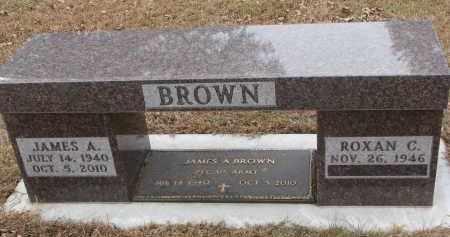 BROWN, JAMES A. - Clay County, South Dakota | JAMES A. BROWN - South Dakota Gravestone Photos