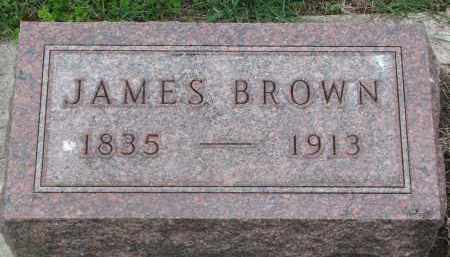 BROWN, JAMES - Clay County, South Dakota | JAMES BROWN - South Dakota Gravestone Photos