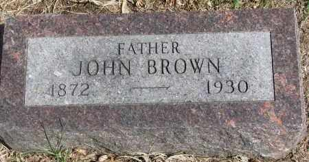 BROWN, JOHN - Clay County, South Dakota | JOHN BROWN - South Dakota Gravestone Photos