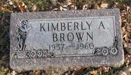 BROWN, KIMBERLY A. - Clay County, South Dakota   KIMBERLY A. BROWN - South Dakota Gravestone Photos