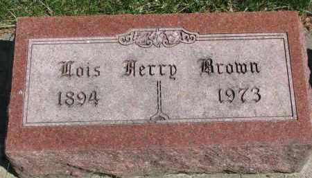 BROWN, LOIS - Clay County, South Dakota | LOIS BROWN - South Dakota Gravestone Photos