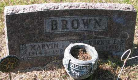 BROWN, MARVIN L. - Clay County, South Dakota | MARVIN L. BROWN - South Dakota Gravestone Photos