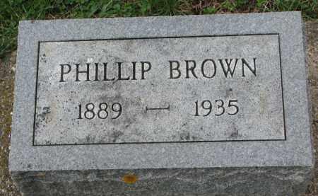 BROWN, PHILLIP - Clay County, South Dakota | PHILLIP BROWN - South Dakota Gravestone Photos